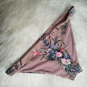 Mauve Hummingbird Bikini Bottoms
